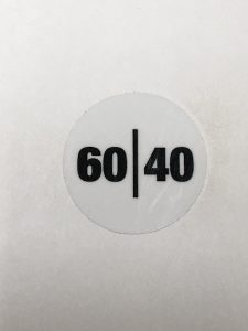 6040 HANDLE STICKER